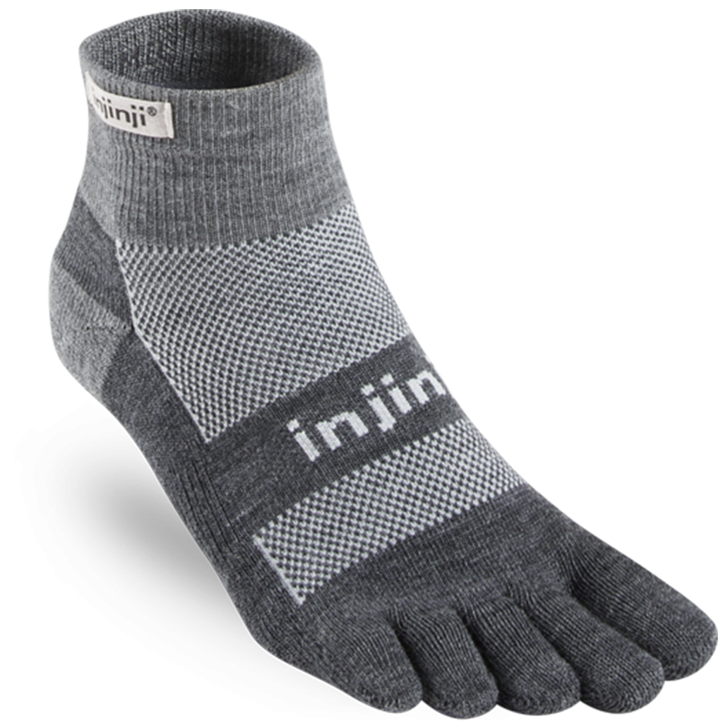 Injinji OUTDOOR 2.0 Midweight Mini-Crew