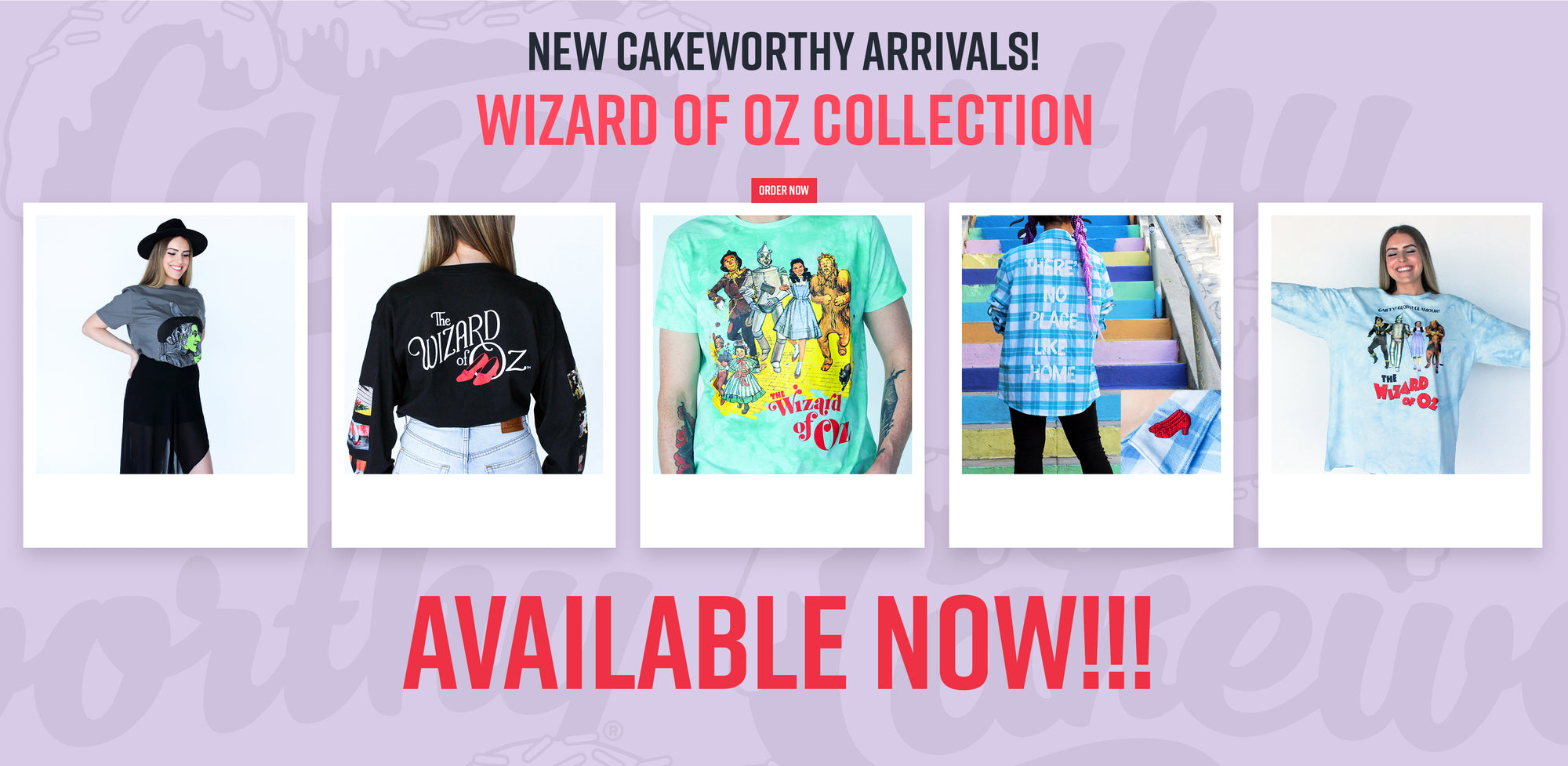 Cakeworthy's Wizard of Oz Collection is here!