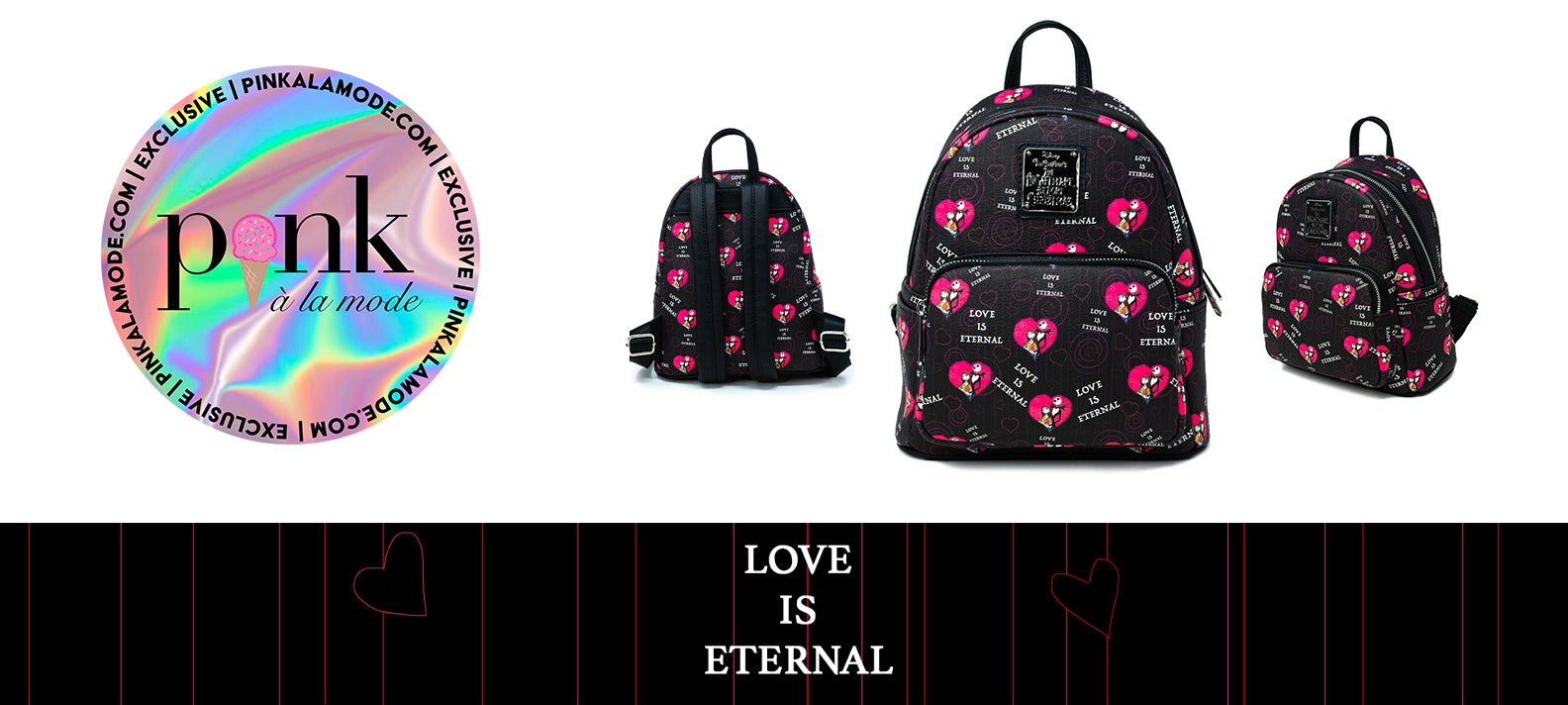 Our First Exclusive - Love Is Eternal Mini Backpack