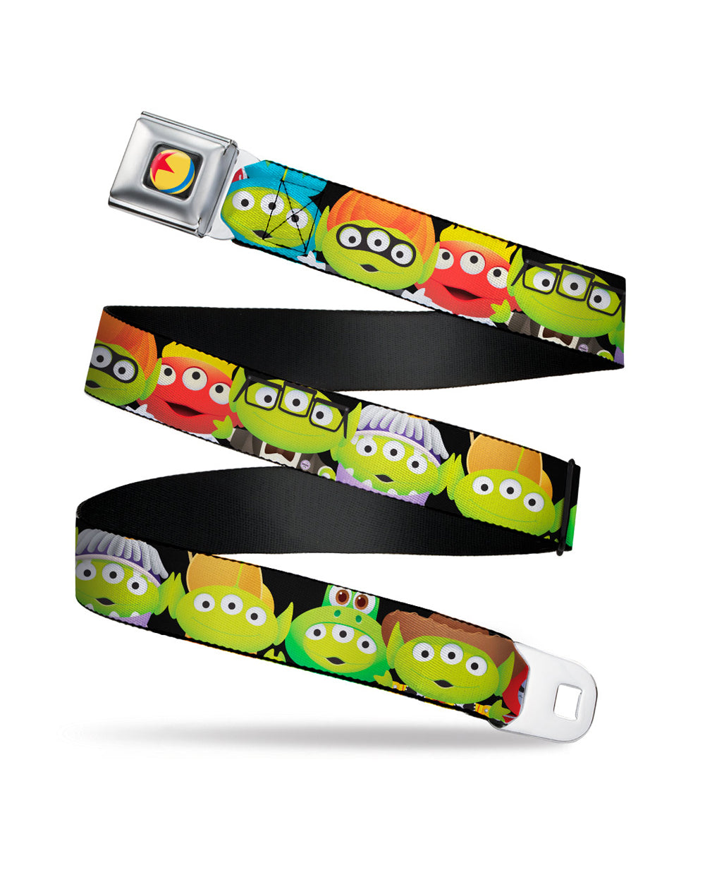 Disney Pixar Toy Story Alien Remix Belt - The Pink a la Mode - Buckle Down - The Pink a la Mode