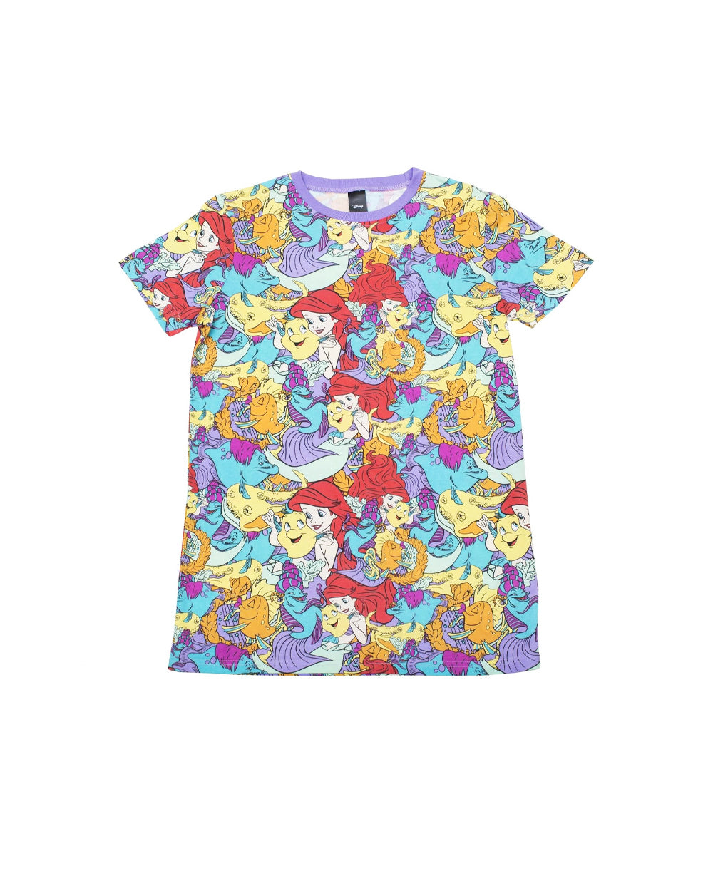 Cakeworthy - Disney Ariel AOP Unisex Tee - The Pink a la Mode - Cakeworthy - The Pink a la Mode