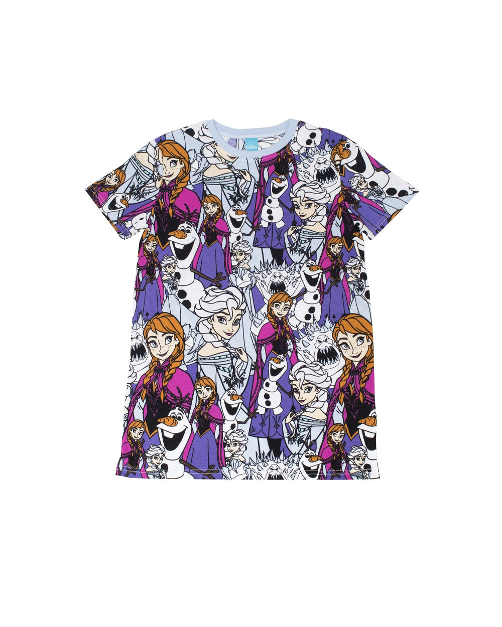 Cakeworthy - Disney Frozen AOP Unisex Tee - The Pink a la Mode