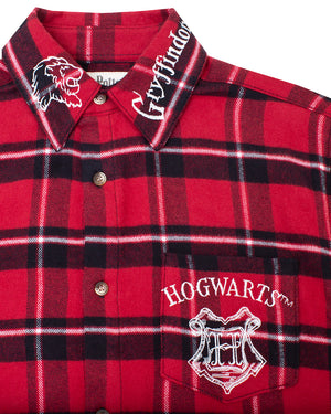 Cakeworthy Harry Potter Gryffindor House Unisex Flannel - The Pink a la Mode