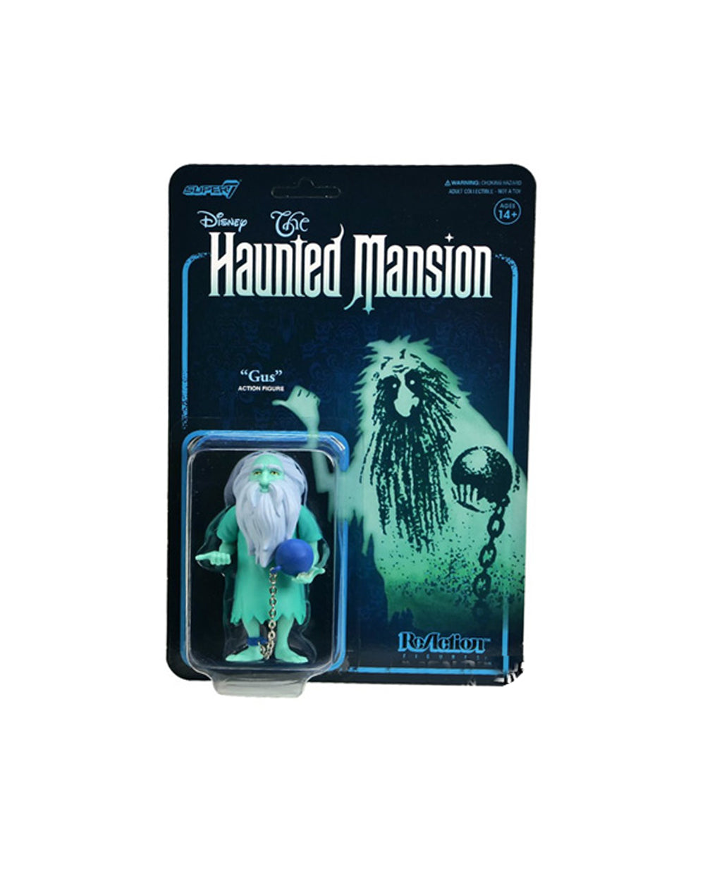 Disney The Haunted Mansion Super7 ReAction - Gus - The Pink a la Mode