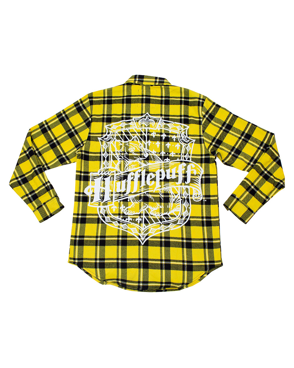 Cakeworthy Harry Potter Hufflepuff House Unisex Flannel - The Pink a la Mode - Cakeworthy - The Pink a la Mode