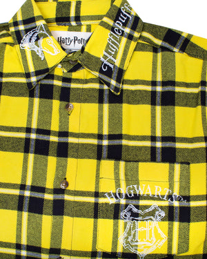 Cakeworthy Harry Potter Hufflepuff House Unisex Flannel - The Pink a la Mode