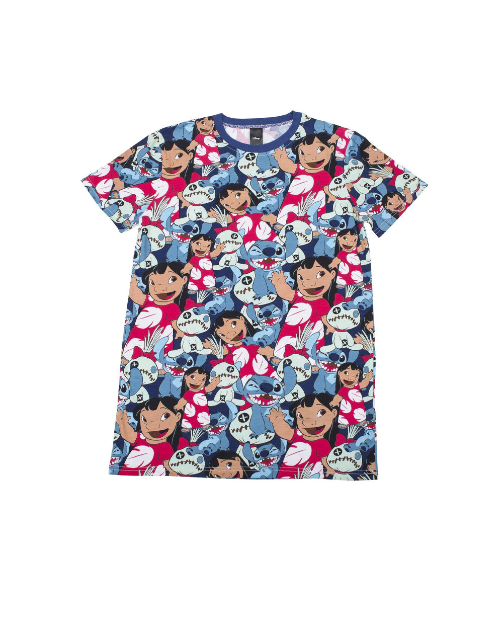 Cakeworthy - Disney Lilo & Stitch AOP Unisex Tee - The Pink a la Mode