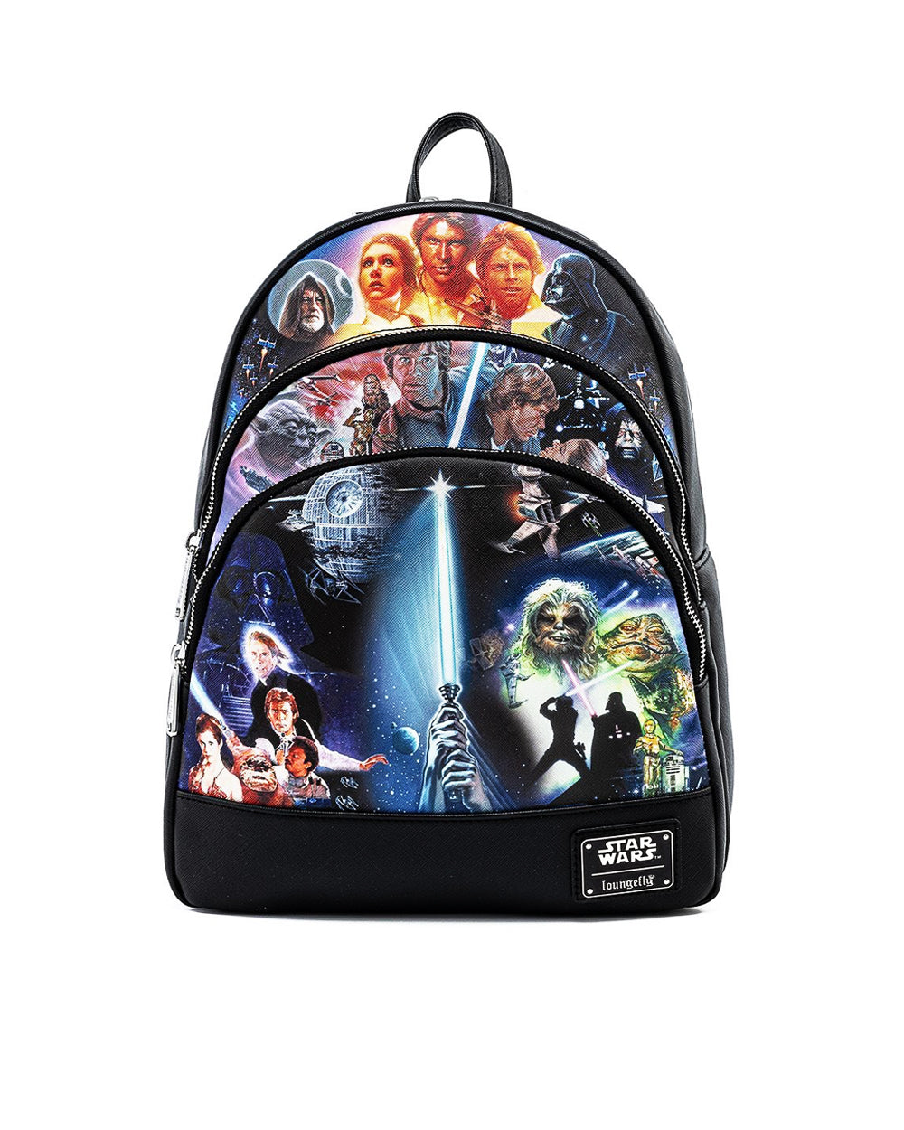 Star Wars Original Trilogy Mini Backpack *PREORDER* *August/September Delivery* - The Pink a la Mode - Loungefly - The Pink a la Mode