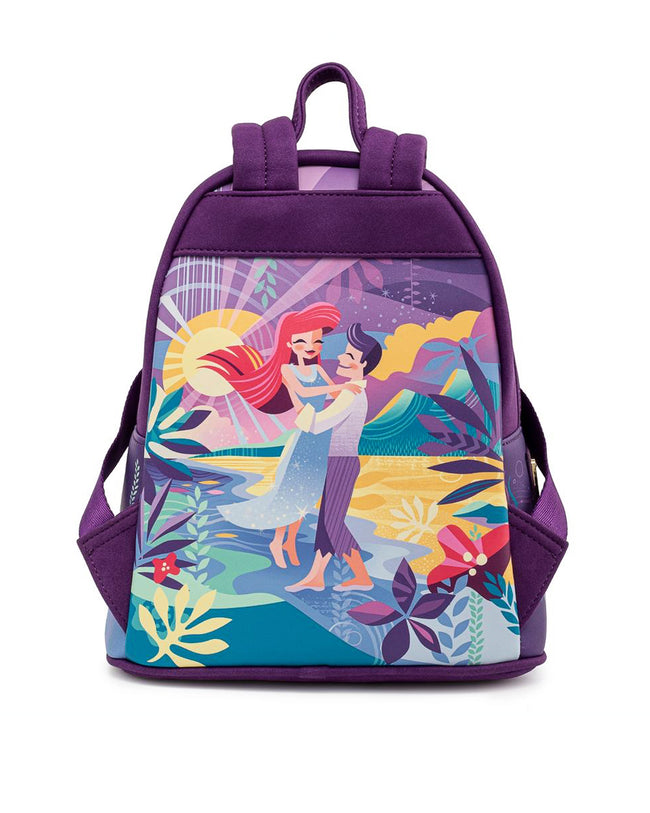 Loungefly - Disney's The Little Mermaid Castle Collection Mini Backpack *PREORDER* - The Pink a la Mode - Loungefly - The Pink a la Mode
