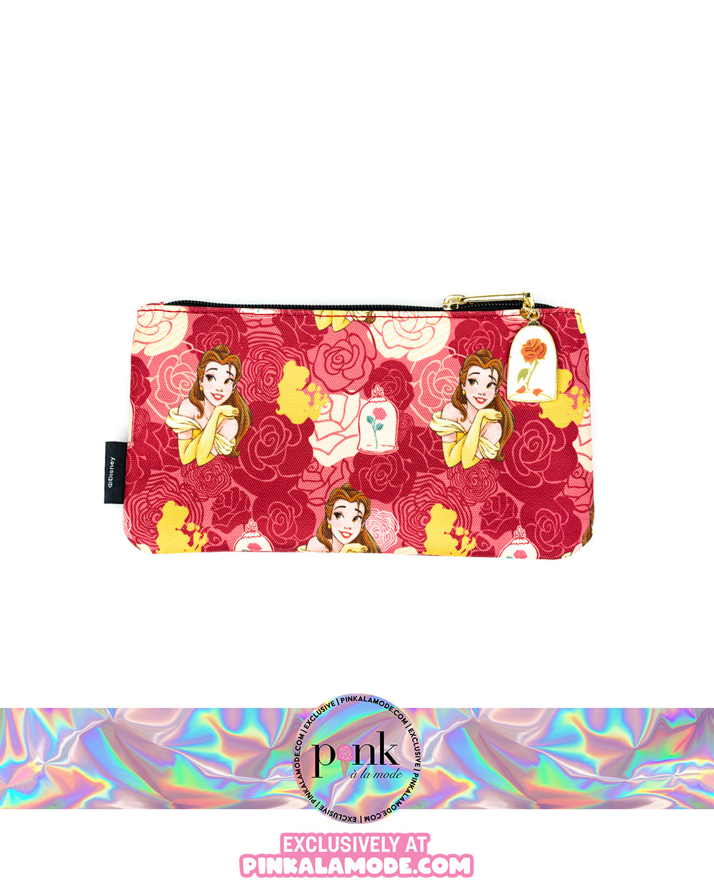 Belle Coin Purse - Pink a la Mode Exclusive *PREORDER* - The Pink a la Mode - Loungefly - The Pink a la Mode