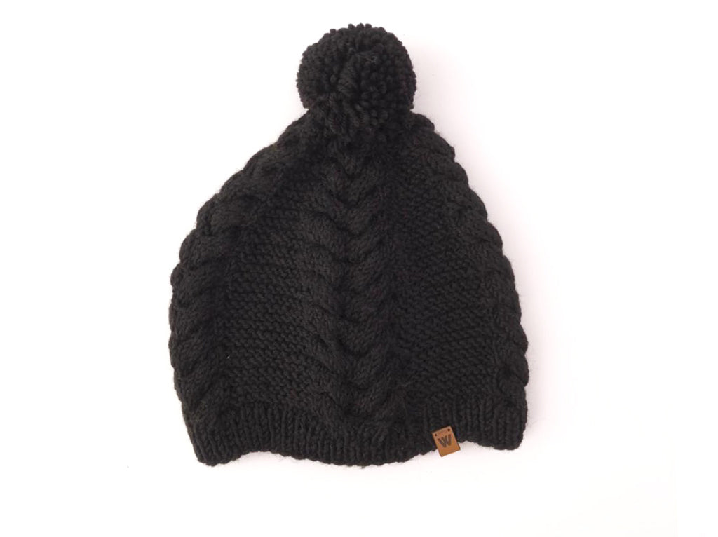 Woolie Beanie Pompon colores