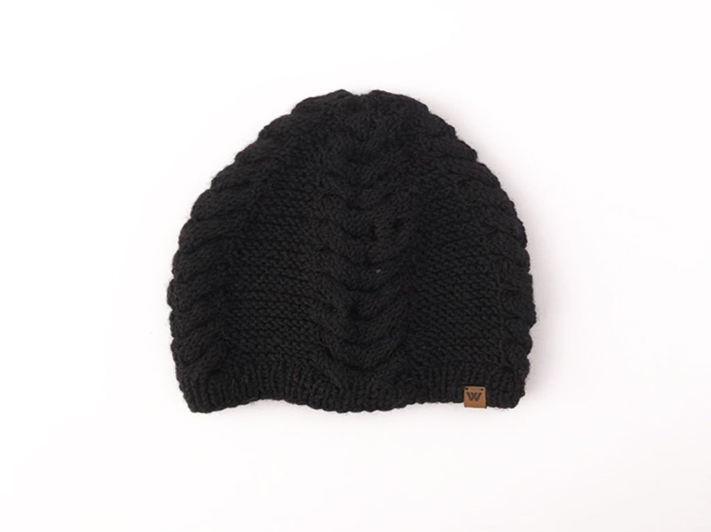 Woolie Beanie Trenzas colores