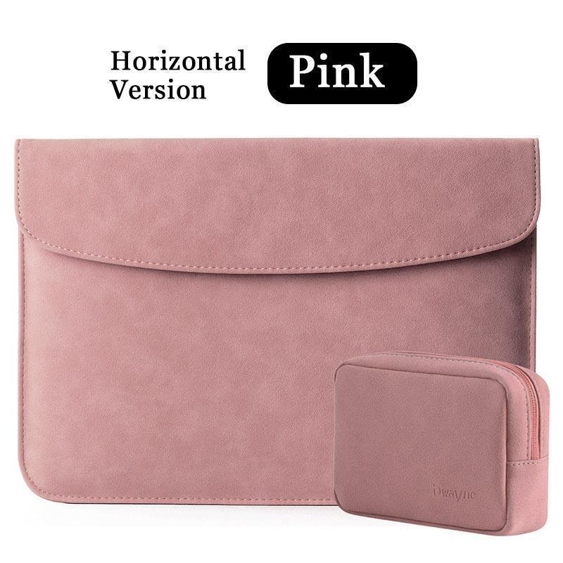 PU Leather Laptop Bag for MacBook Air Pro Retina 11 12 13 15 Inches