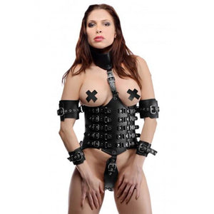 Strict Leather Ultimate Lockdown Serre-Taille pour Femme -