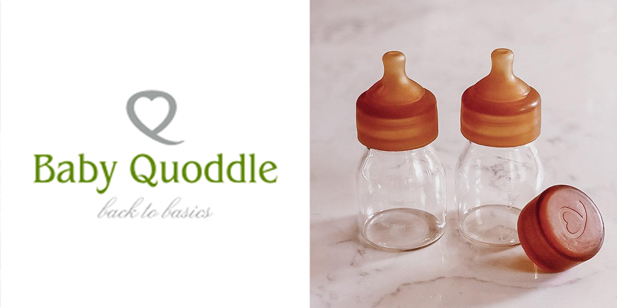 Baby Quoddle Glass Bottles