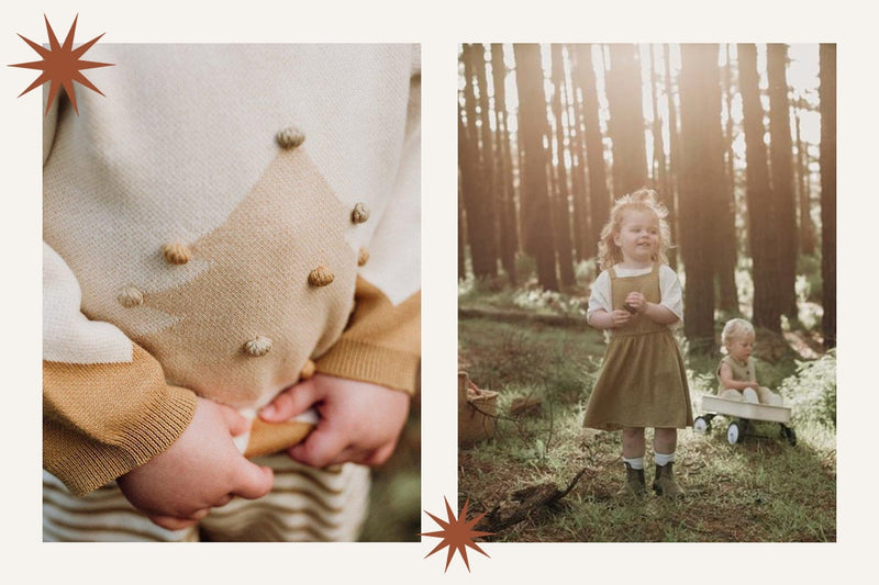 Natural kids clothing from Grown