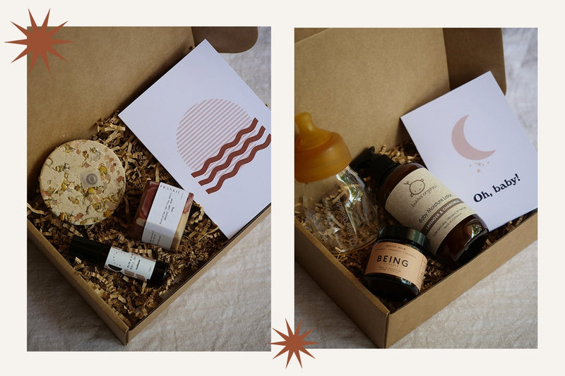 Eco gift boxes at Navy Trader Co