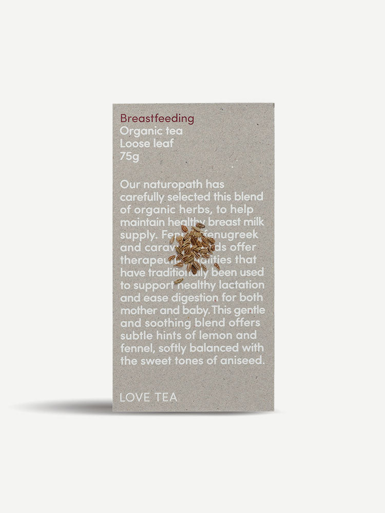 Box of Breastfeeding Organic Loose Leaf Tea 75g
