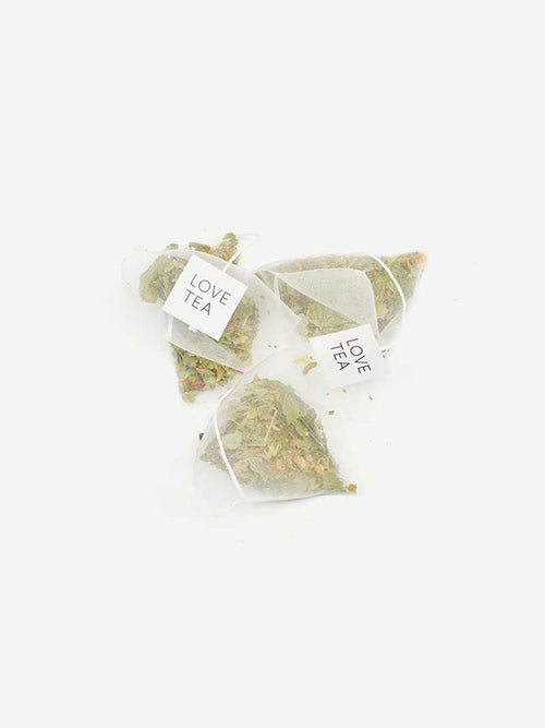 3 Love Tea Pyramid Tea Bags Breastfeeding Organic