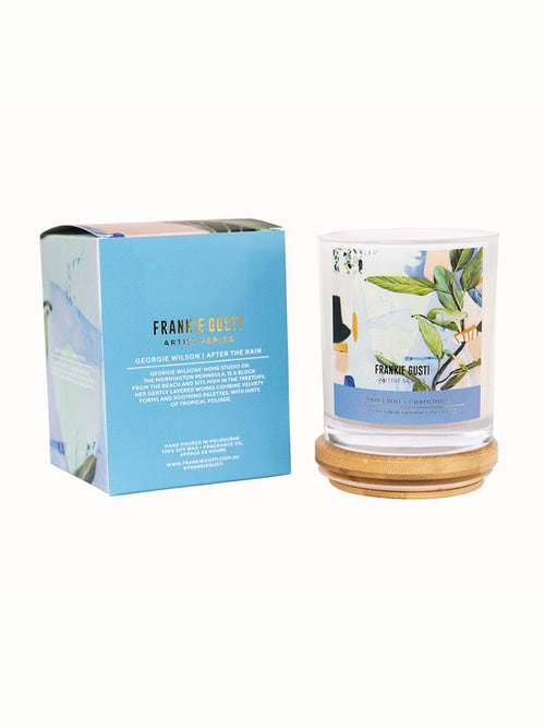 Frankie Gusti grapefruit and chamomile candle
