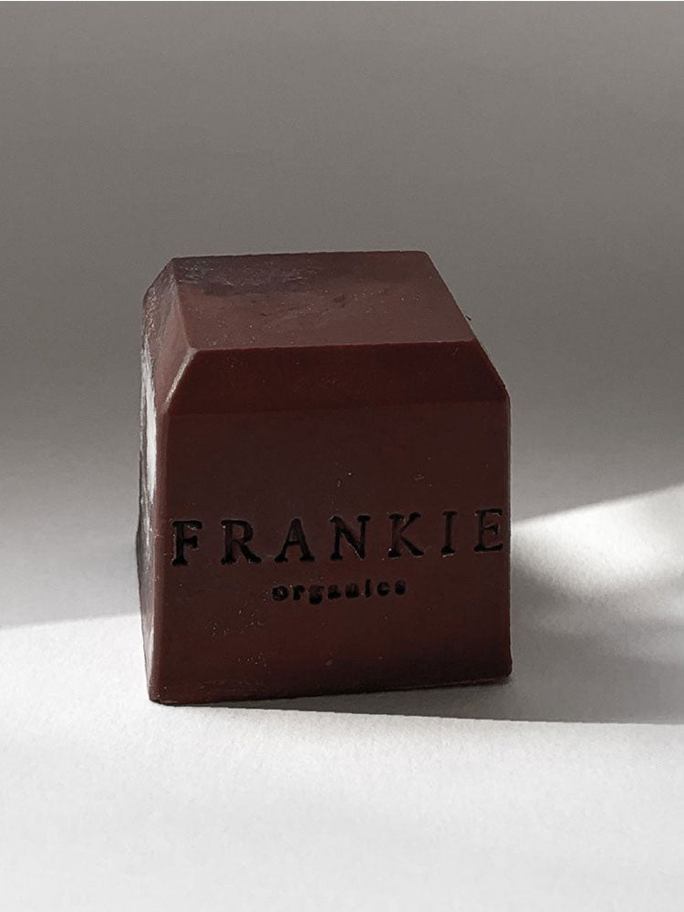 Frankie Organics Organic Cube Soap Red Clay Australian Bush Close Up