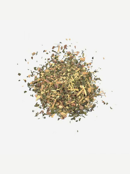 Love Tea Detox Organic Loose Leaf Tea Flat Lay