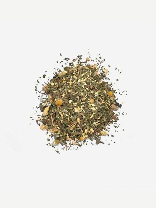 Love Tea Digestive Organic Loose Leaf Tea 60g Flat Lay