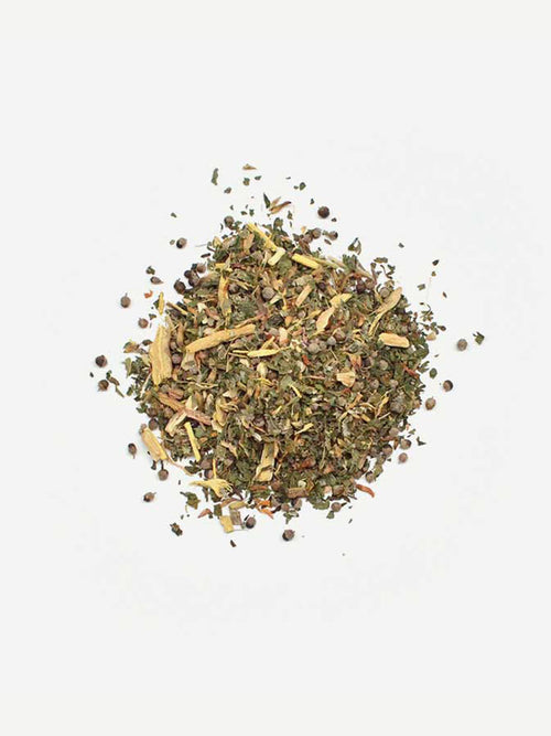 Love Tea Fertility Organic Loose Leaf Tea Flat lay