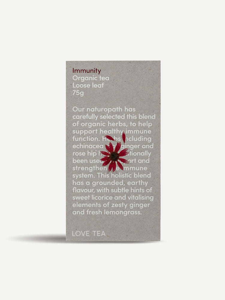 Love Tea Immunity Organic Loose Leaf Tea 75g