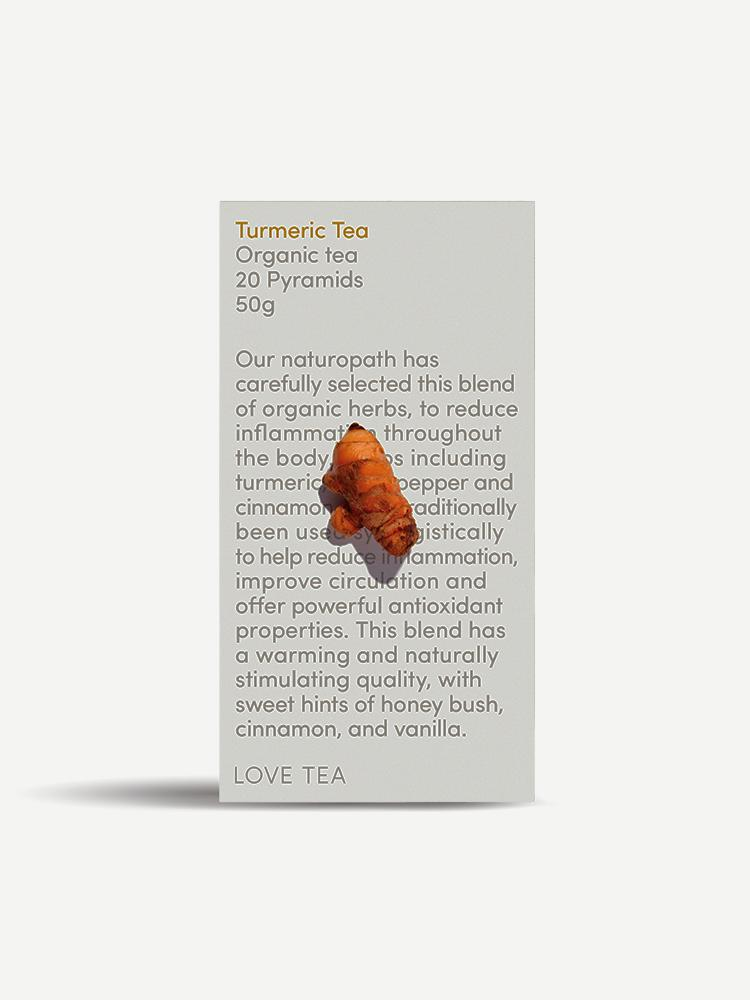 Box of Turmeric organic tea