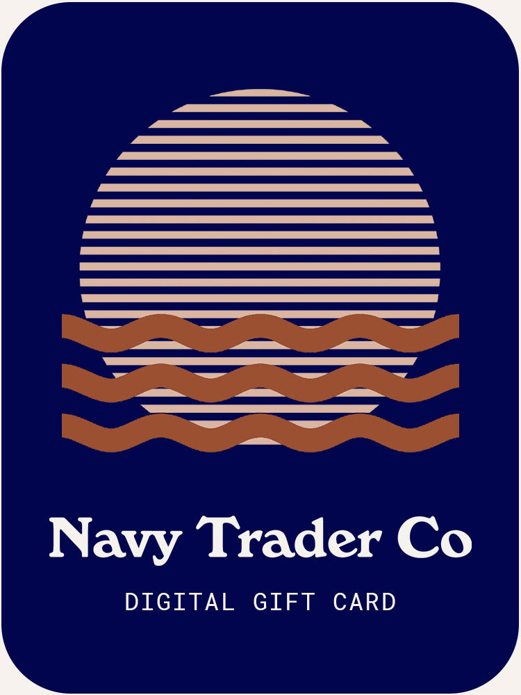 Navy Trader Co Digital Giftcard illustration