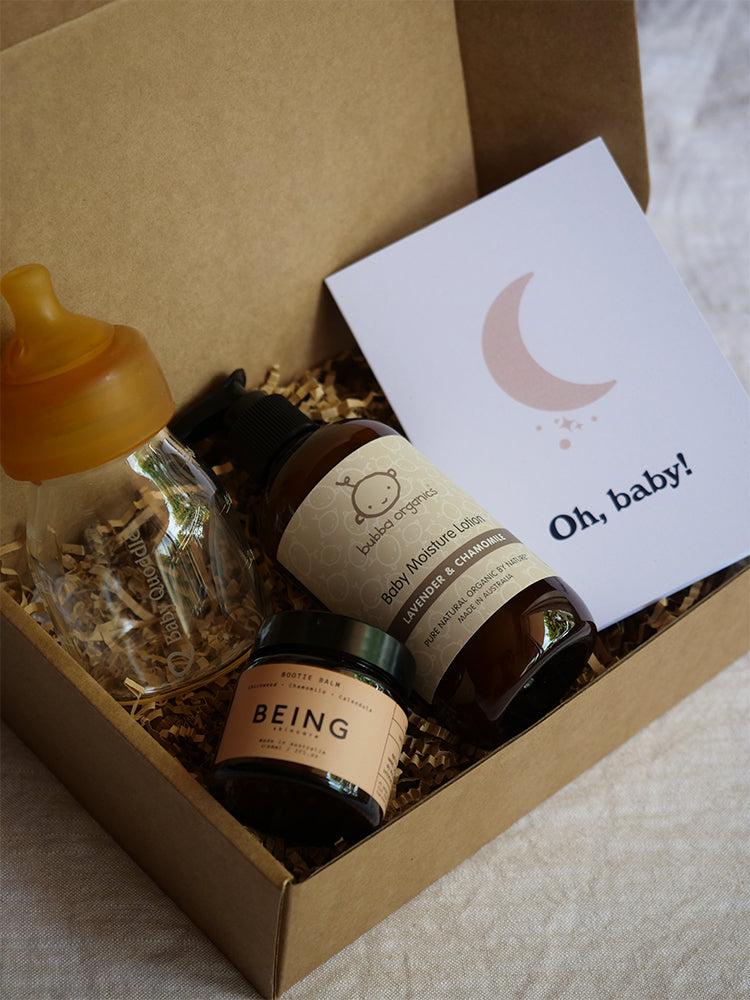 Navy Trader Co Eco Gift Box For New Baby