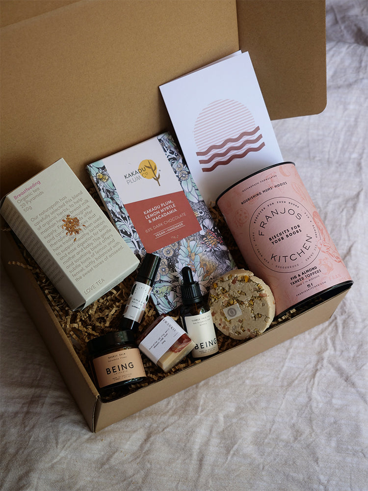 Navy Trader Co Luxe Eco Gift Box For New Mumma