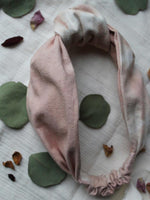 Siren and Stone headband in peony pink