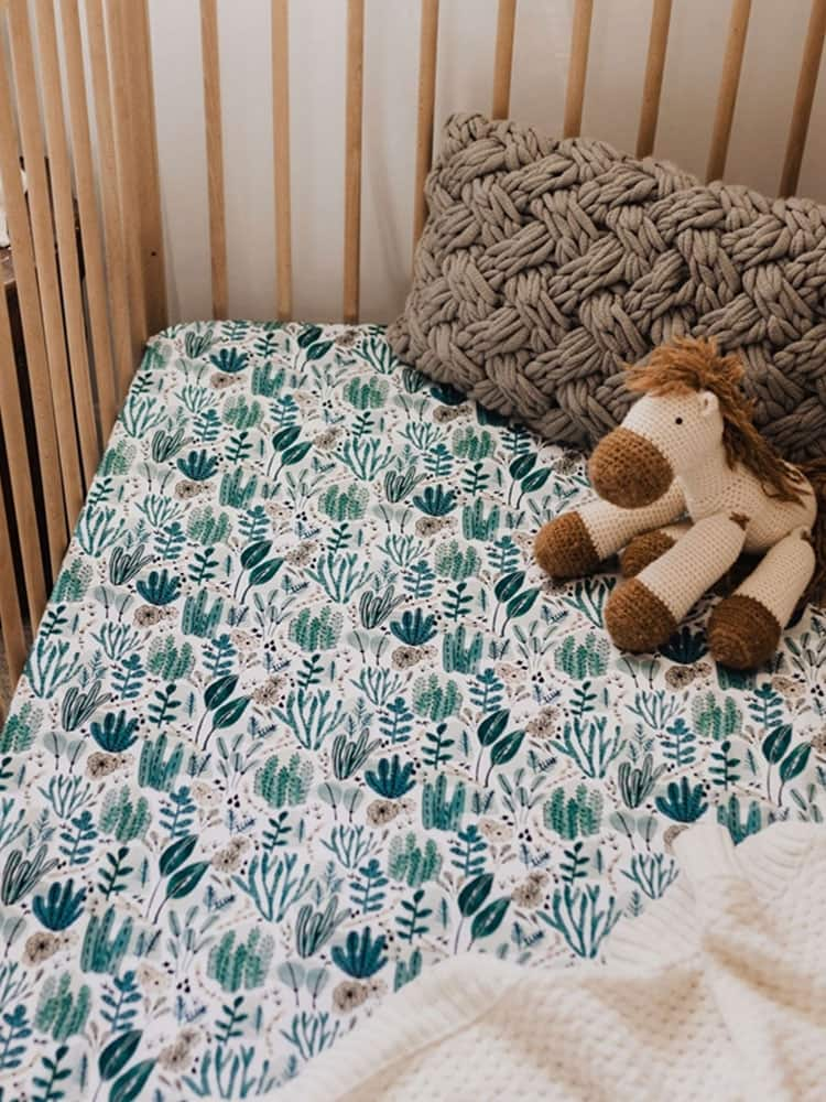 Snuggle Hunny Kids Fitted Cot Sheet Arizona