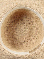 Natural weave hat by Tanora