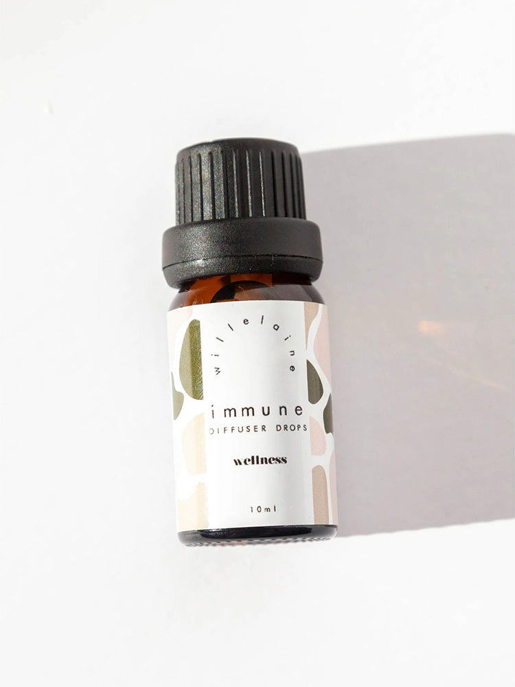 Little bottle of Immune essential oils by Willelaine Aromatherapy