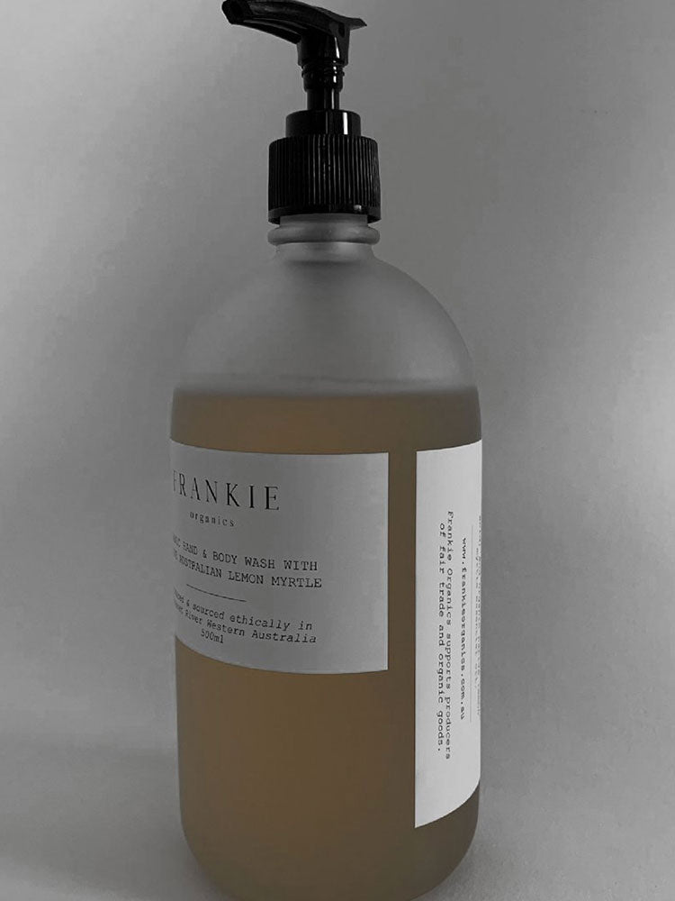 Organic Hand and Body Wash - Native Australian Lemon Myrtle