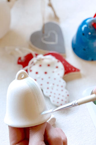 Ceramic Painting Christmas Ornaments