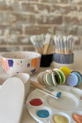 Ceramic Painting • Art & Craft Party