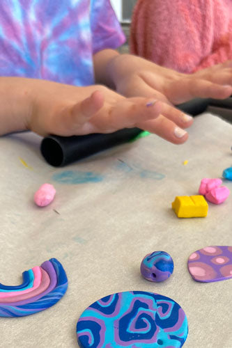Kids Polymer Clay Hanger Workshop • 10+