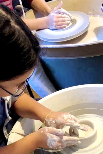 Pottery Course for Kids & Teens (3 days) • 13+