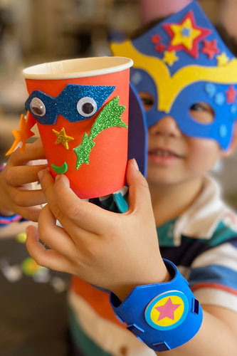 Superhero • Craft Party
