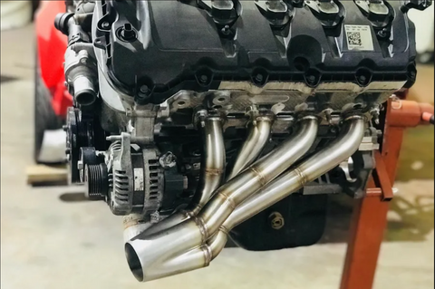 "1-7/8"" Forward Facing Coyote Headers"