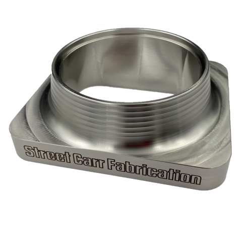 Street Carr Fabrication T4 single inlet open billet turbo flange