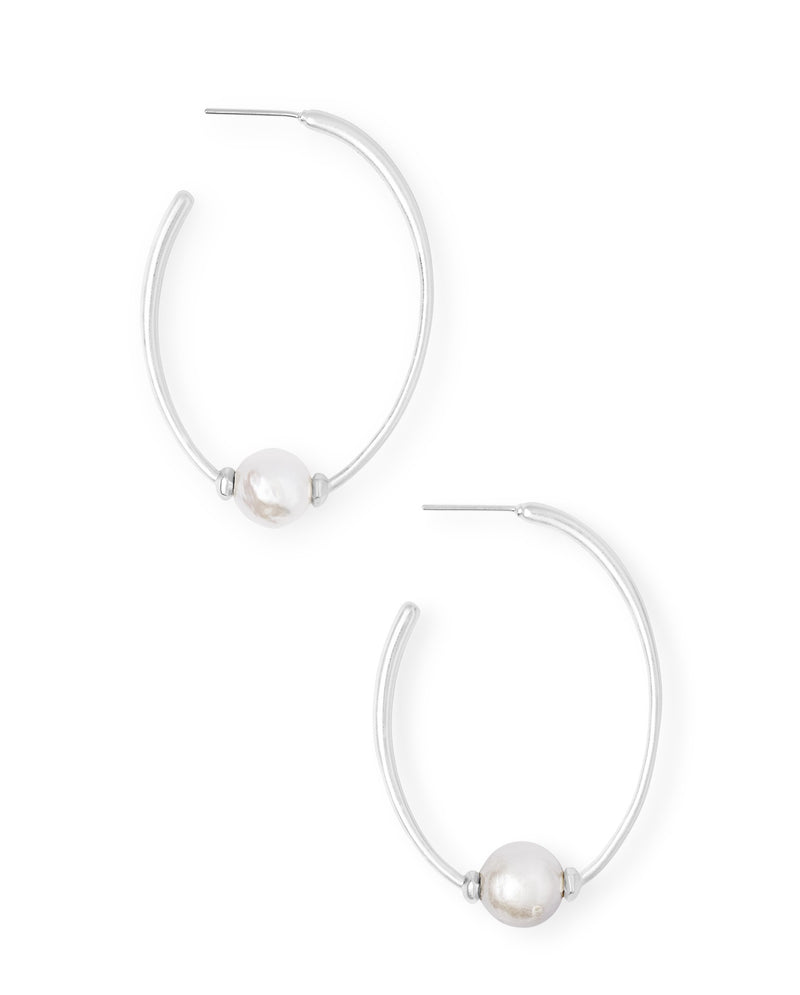 KENDRA SCOTT EAR REGINA GOLD BAROQUE PEARL