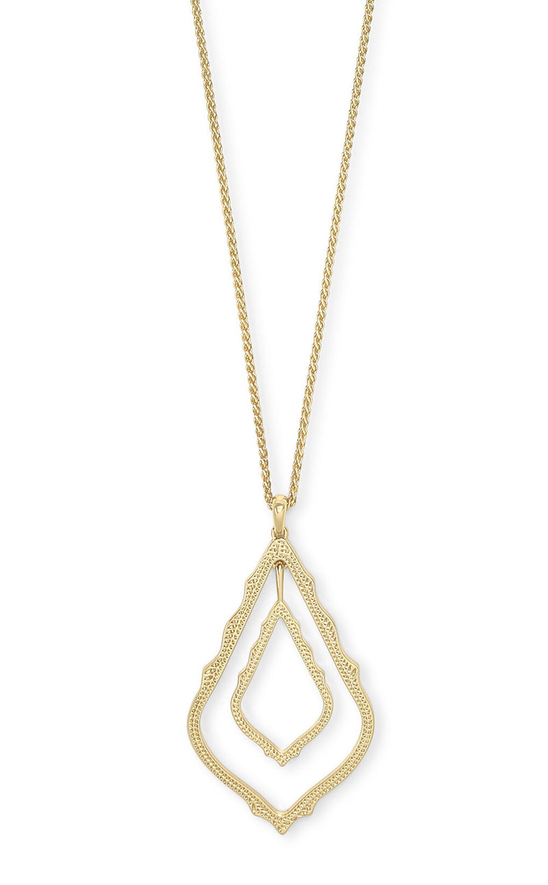 KENDRA SCOTT NECKLACE SIMON GOLD METAL