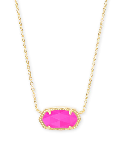 KENDRA SCOTT NECKLACE ELISA GOLD MAGENTA