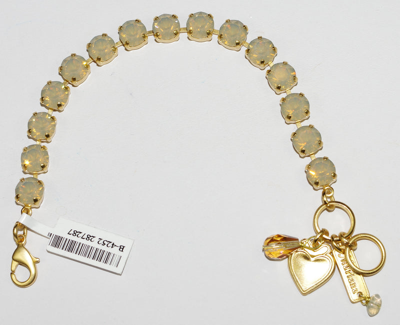 MARIANA BRACELET SAND OPAL BETTE: sand opal stones in yellow gold setting