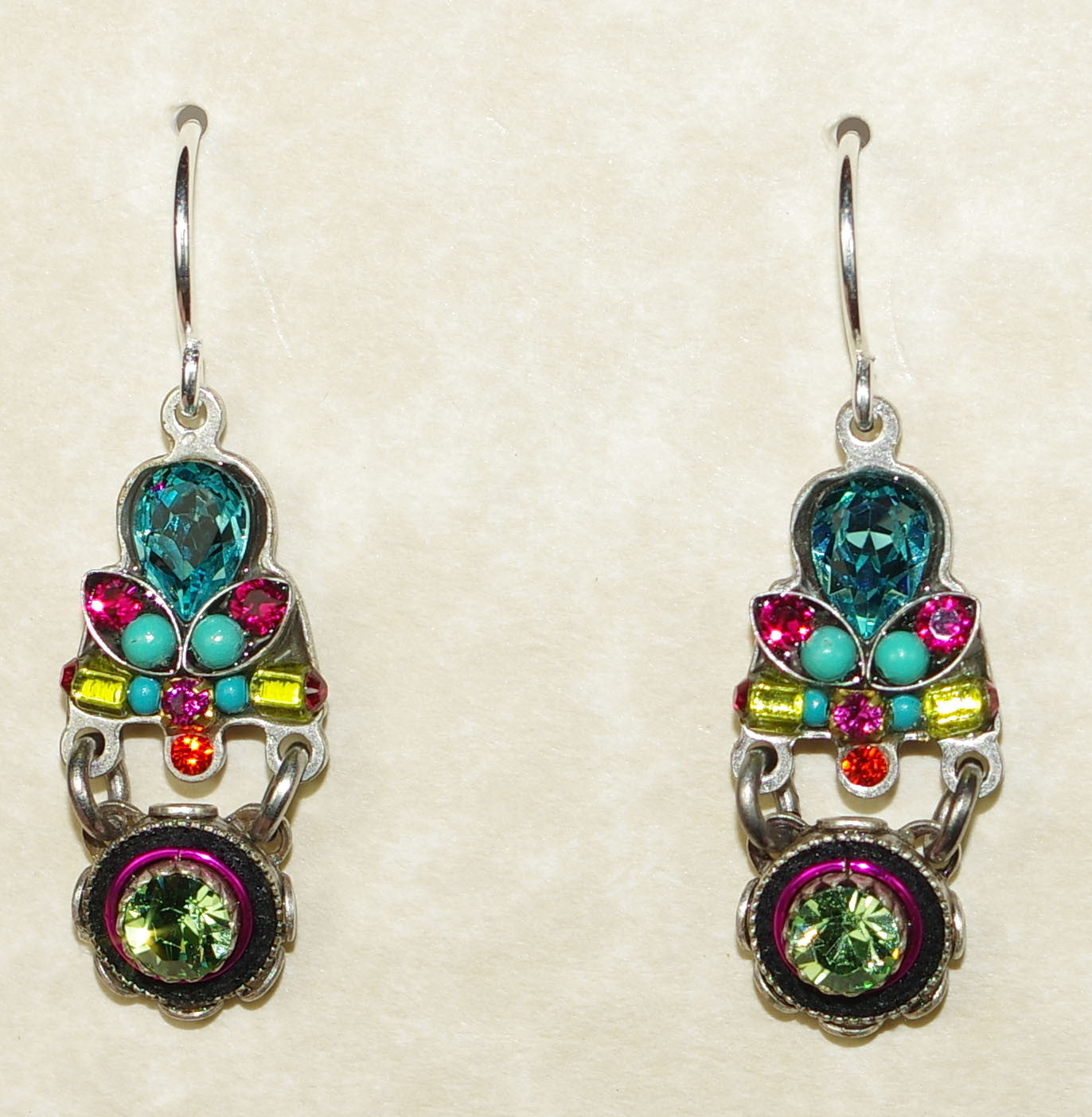 jewelry earrings color hanging products cz stud birmingham multi